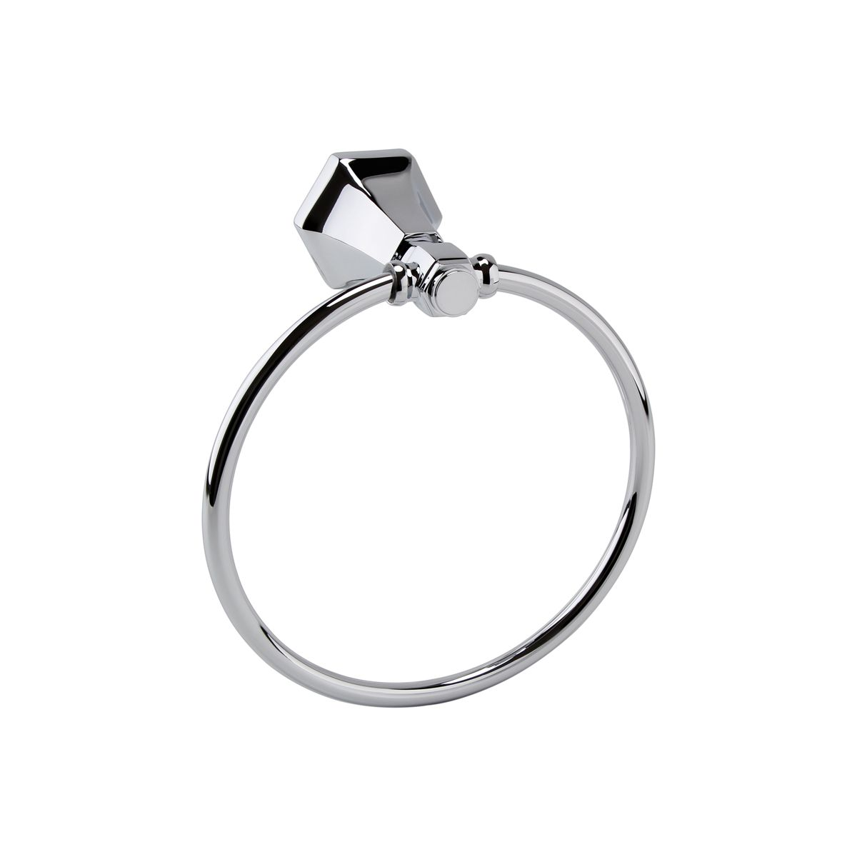 RAK Washington Polished Chrome Towel Ring