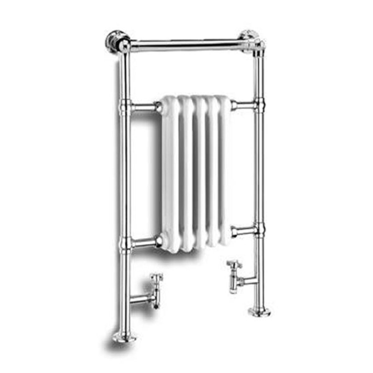 Reina Oxford Traditional Radiator and Towel Rail 960 x 538mm
