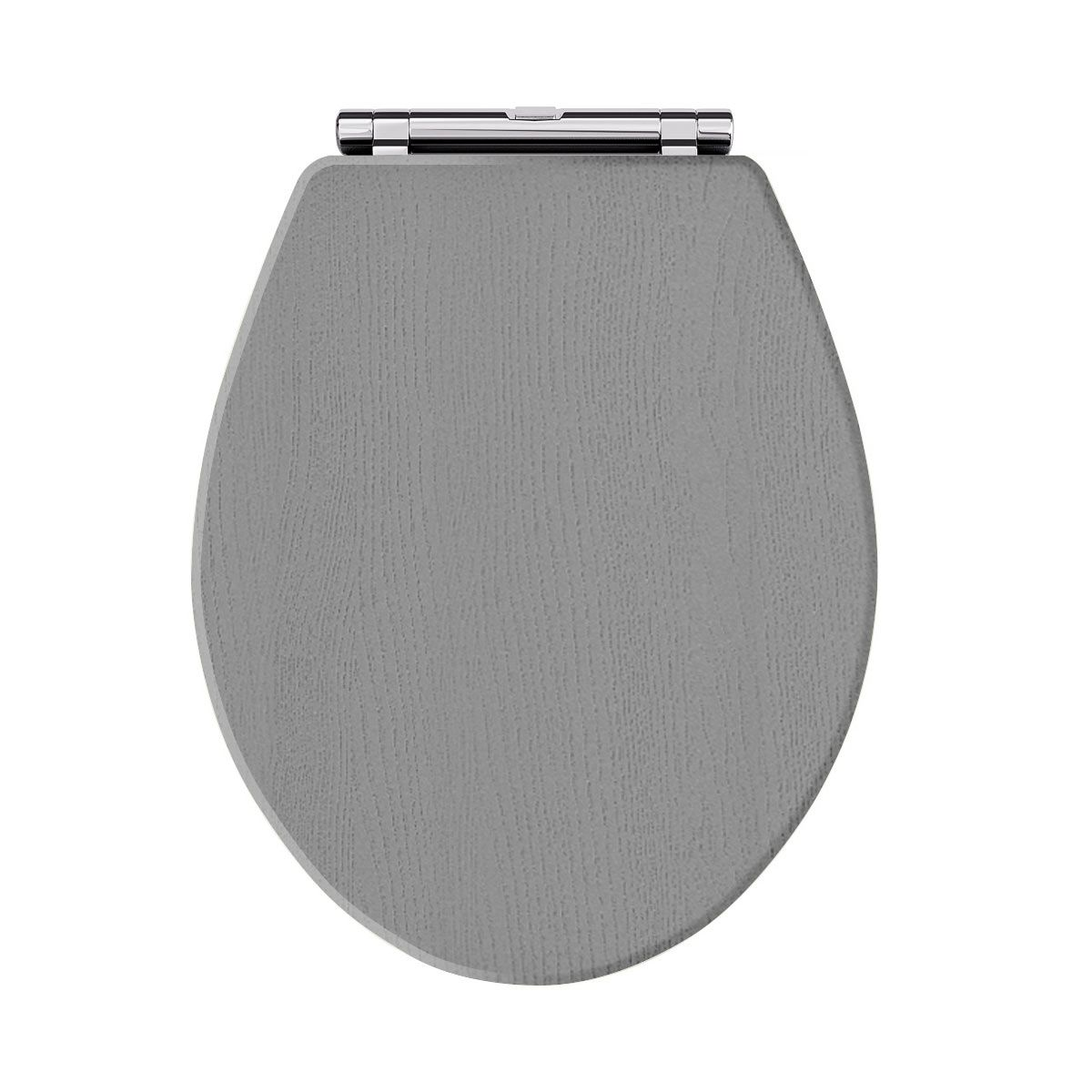 Richmond & Carlton Storm Grey Soft Close Toilet Seat