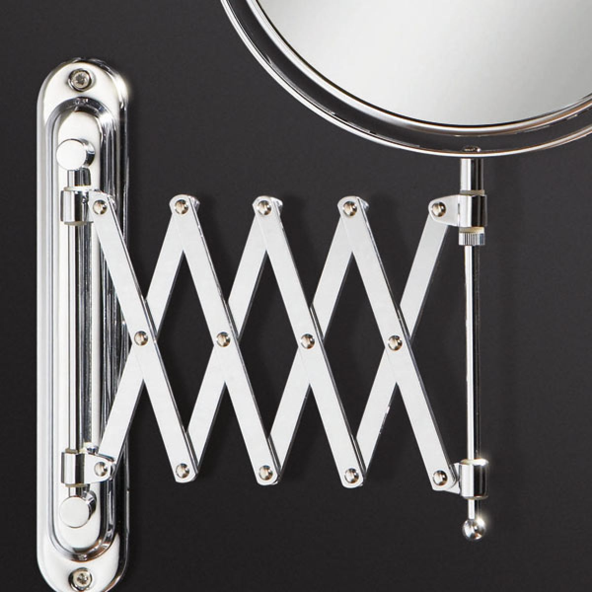 Rossi Magnifying Mirror Bracket