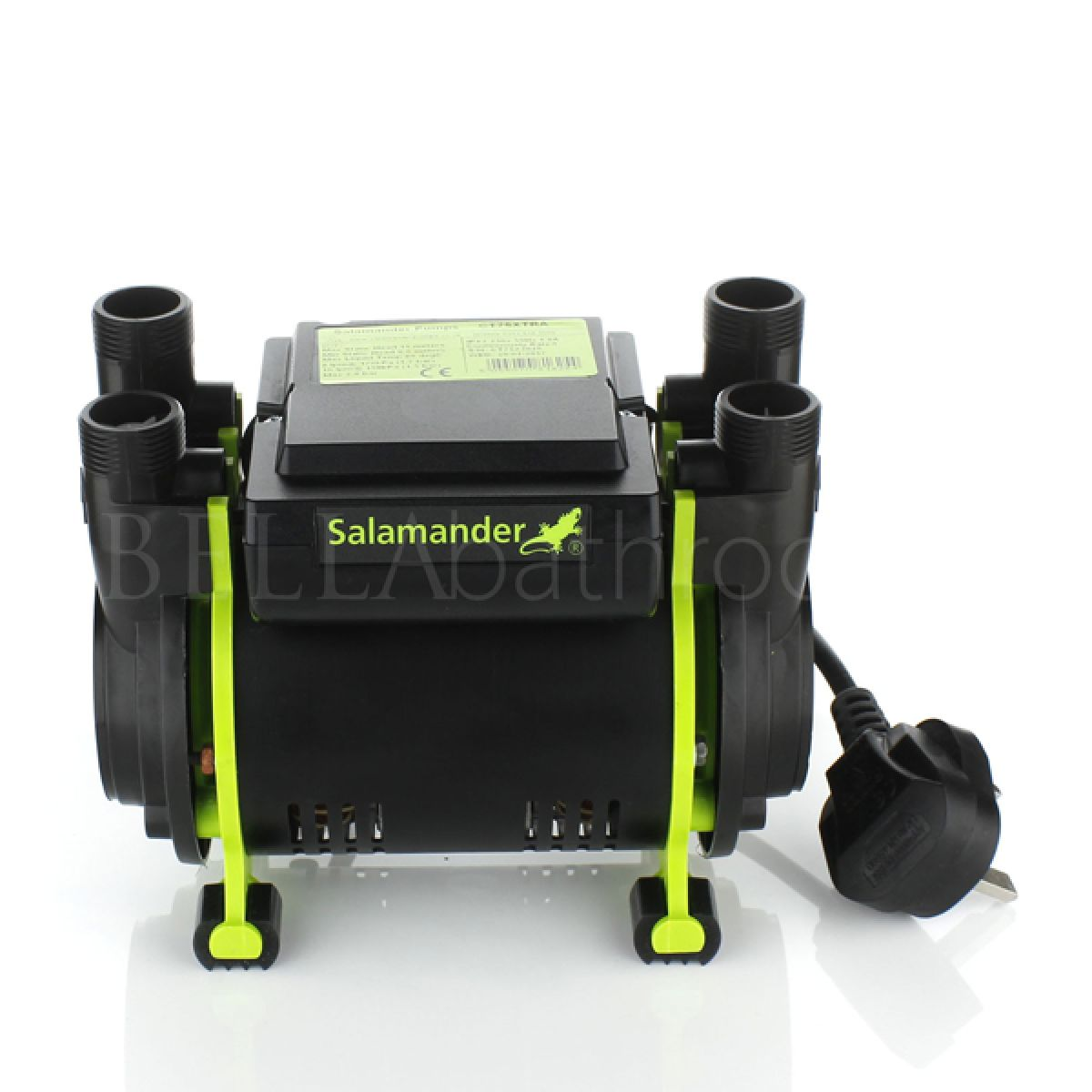 Salamander CT 75 Xtra 2.0 Bar Twin Shower Pump Front