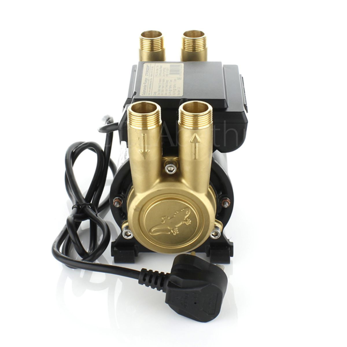 Salamander CT FORCE 20 PT Brass Twin Ended Positive Head Shower Pump Right