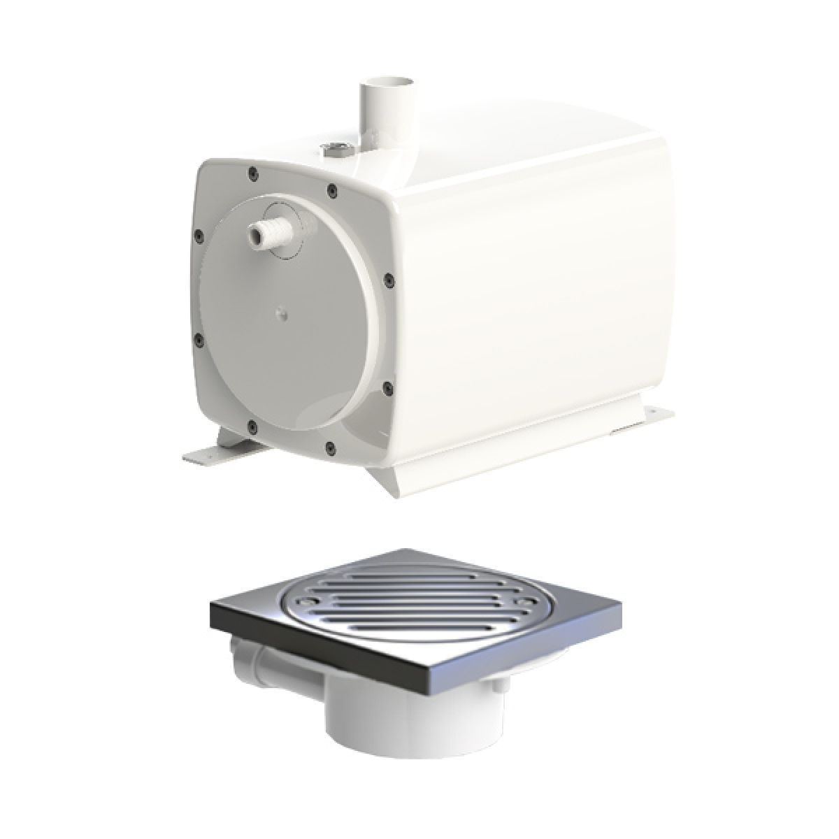 Sanifloor 1 Macerator Pump for Tiled Flooring