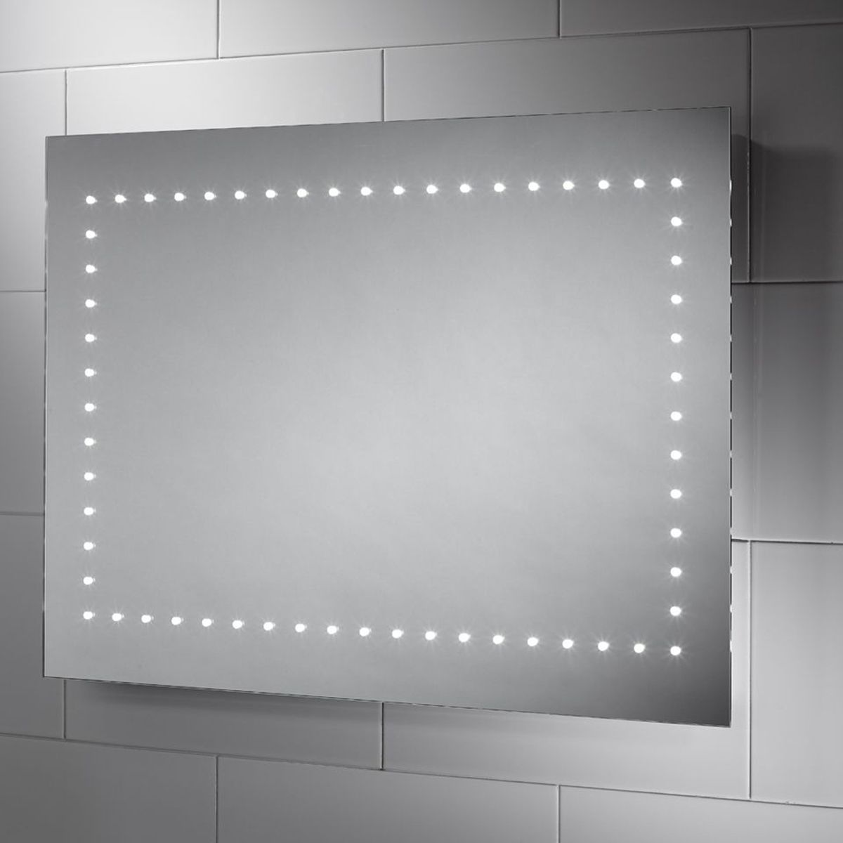 Sensio Bronte Single Strip LED Mirror 800 x 600 x 30 1