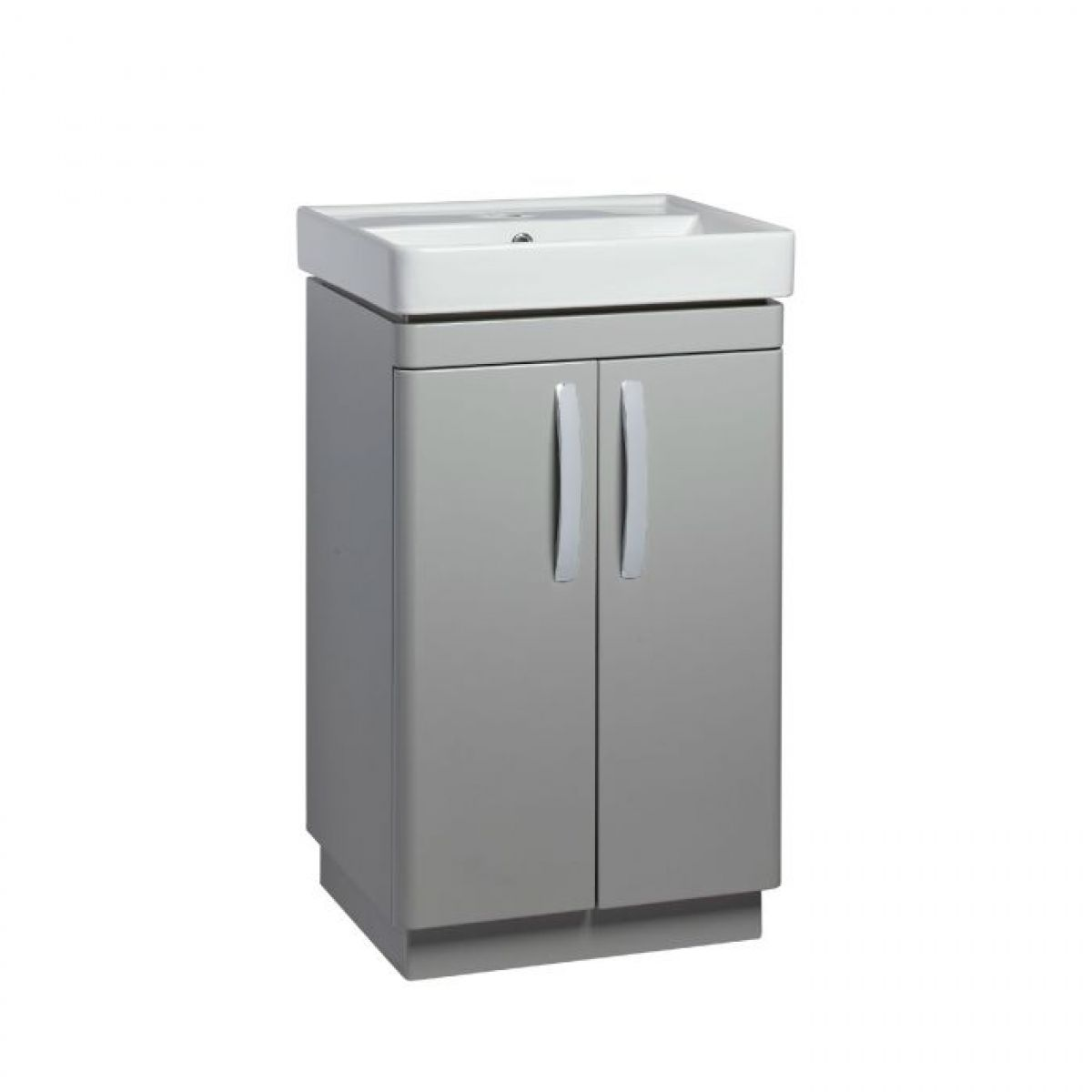 Tavistock Compass Grey Freestanding Vanity Unit 500mm