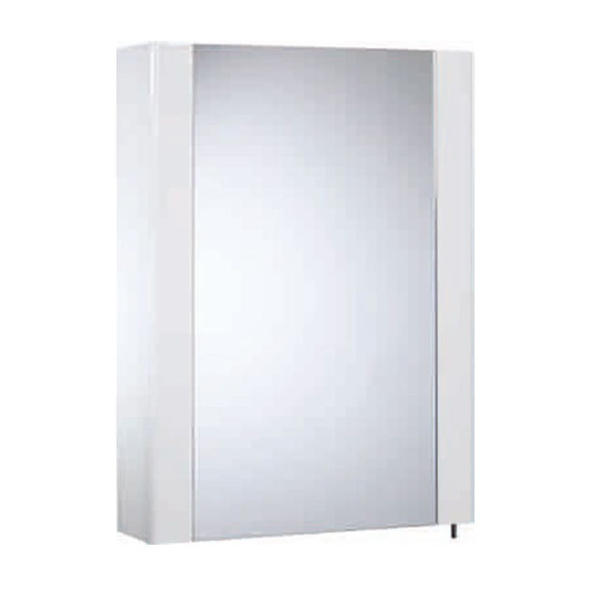 Tavistock Detail Gloss White Single Door Cabinet