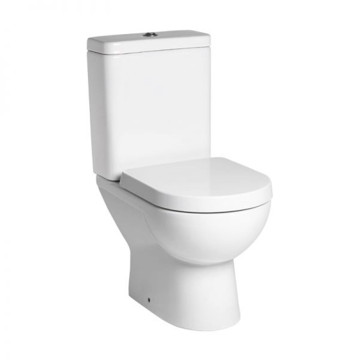 Tavistock Ion Close Coupled Toilet and Soft Close Seat