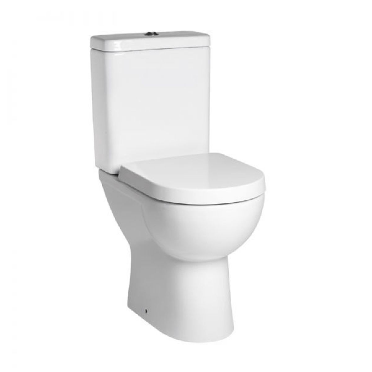 Tavistock Ion Comfort Height Close Coupled Toilet and Soft Close Seat