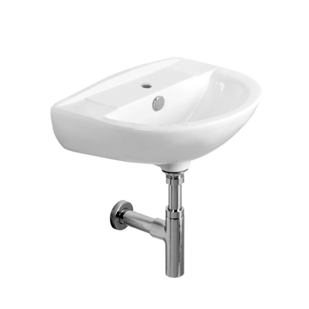Tavistock Micra 1 Tap Hole Basin and Bottle trap 450mm