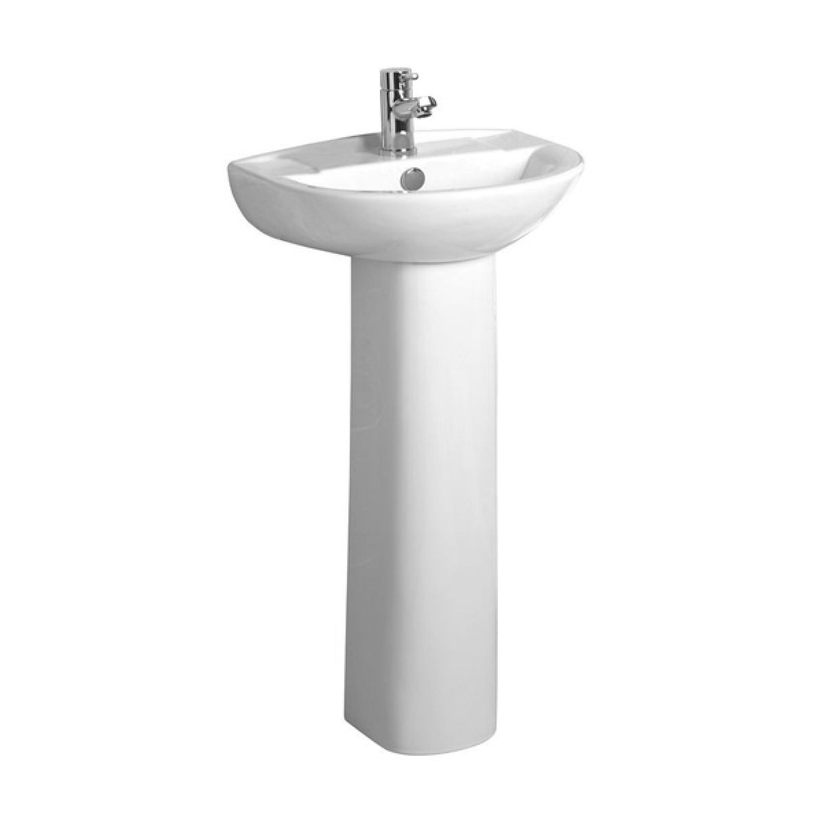 Tavistock Micra Basin and Pedestal 450mm