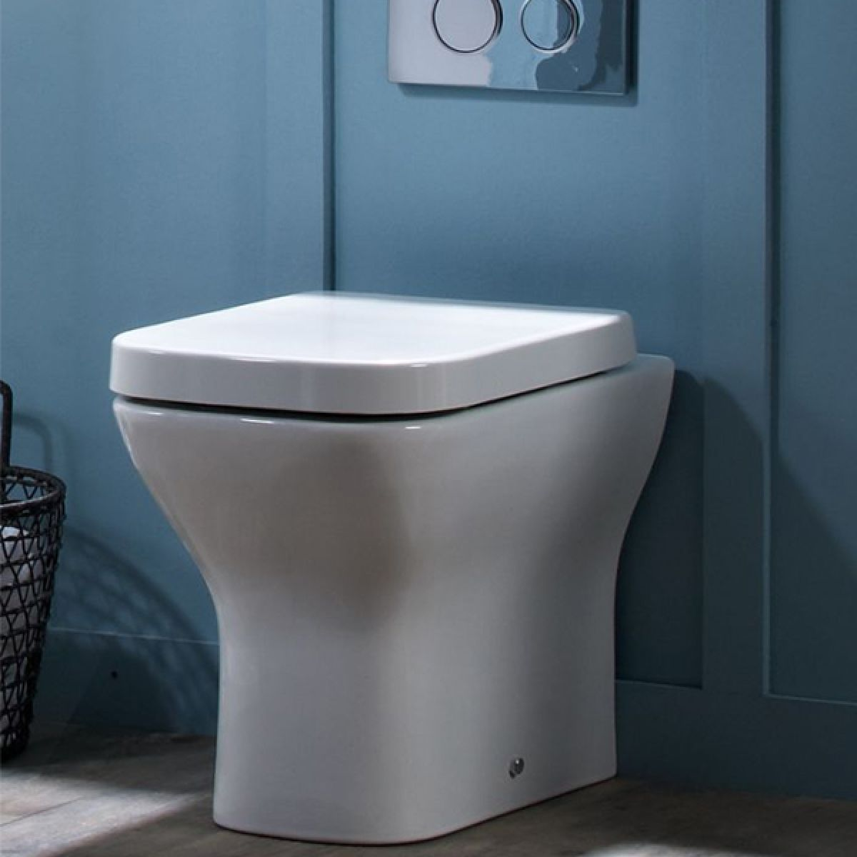 Tavistock Structure Back To Wall Toilet and Soft Close Seat in Situation