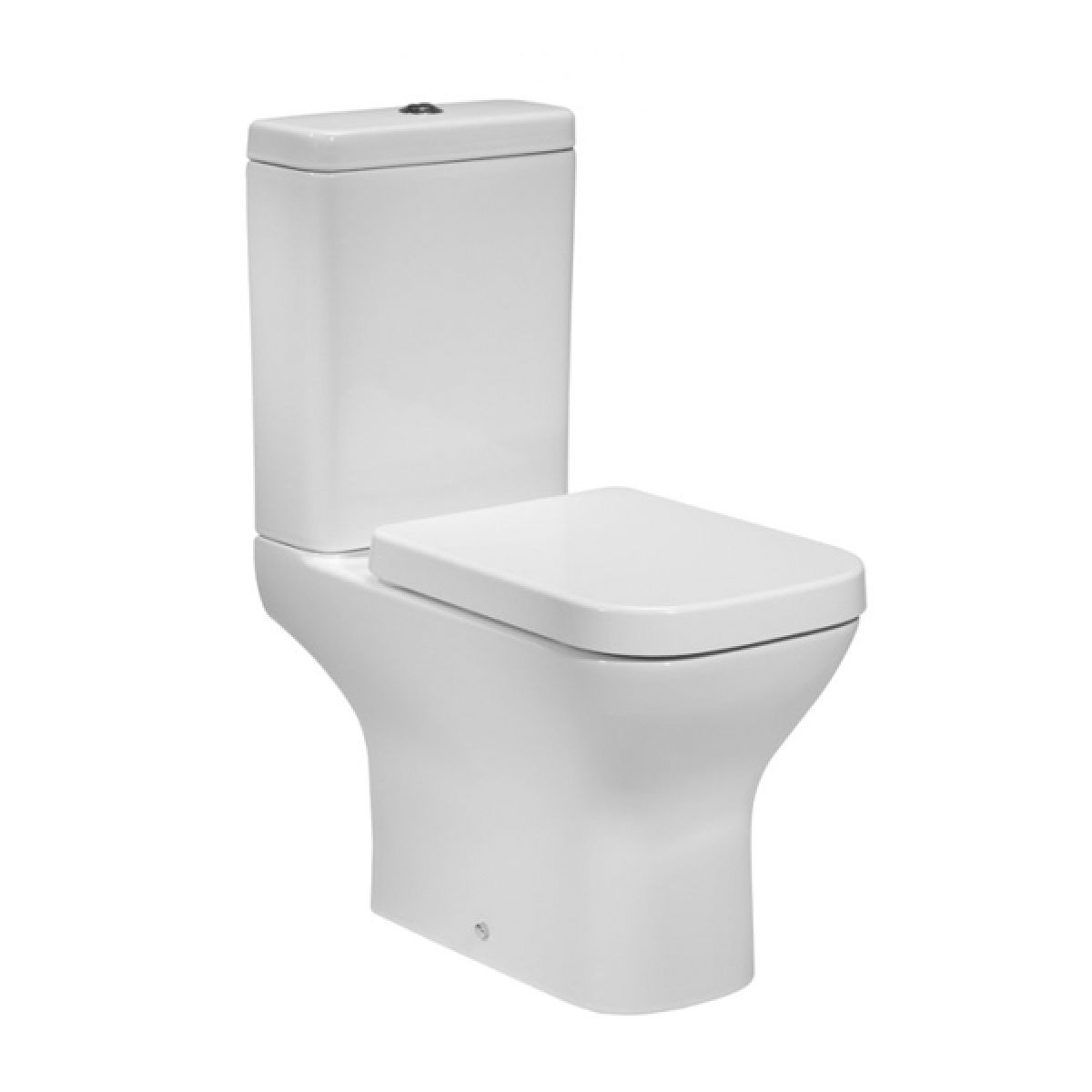 Tavistock Structure Close Coupled Toilet and Soft Close Seat