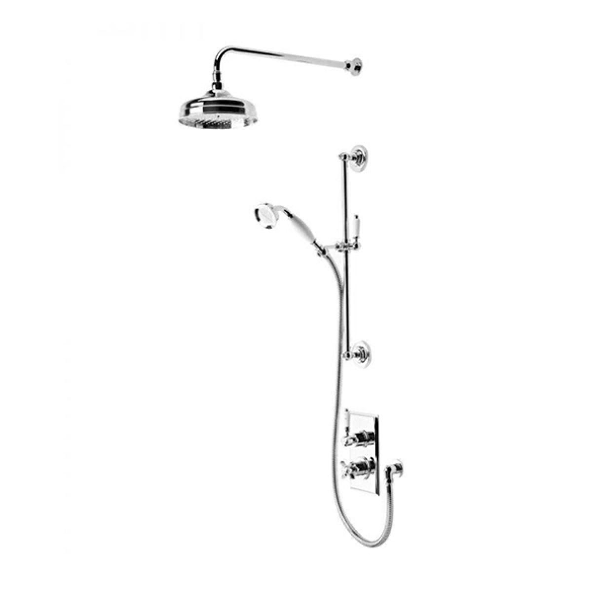 Tavistock Varsity Thermostatic Concealed Dual Function Shower System