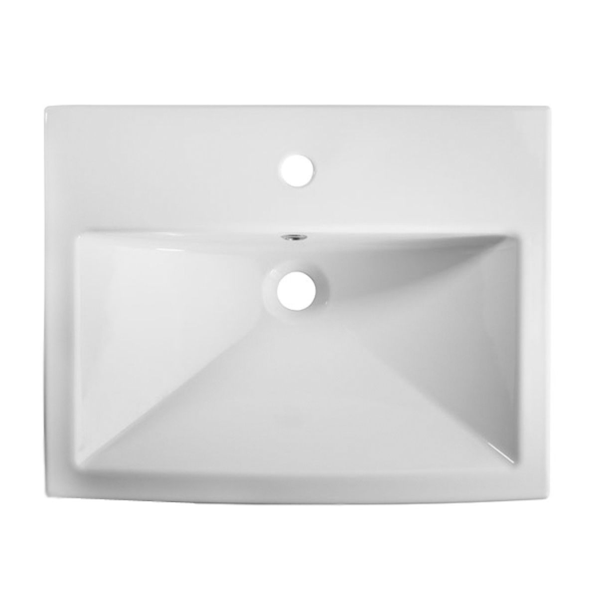 Tavistock Vibe Semi Countertop Basin 550mm