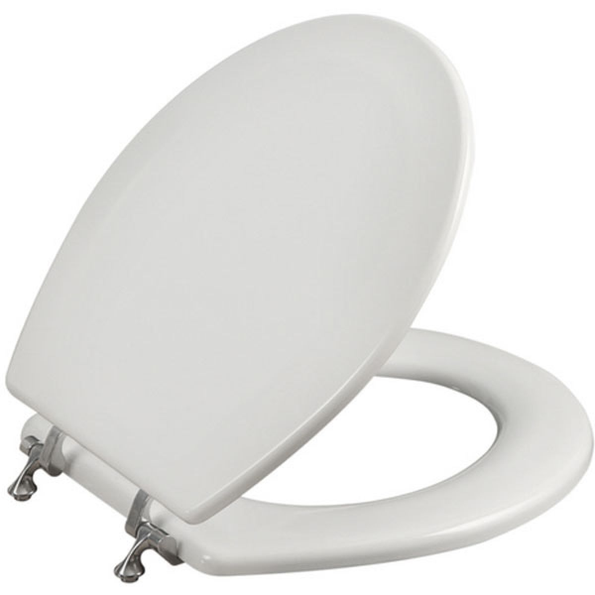 Tavistock Topaz Wood Toilet Seat in Gloss White