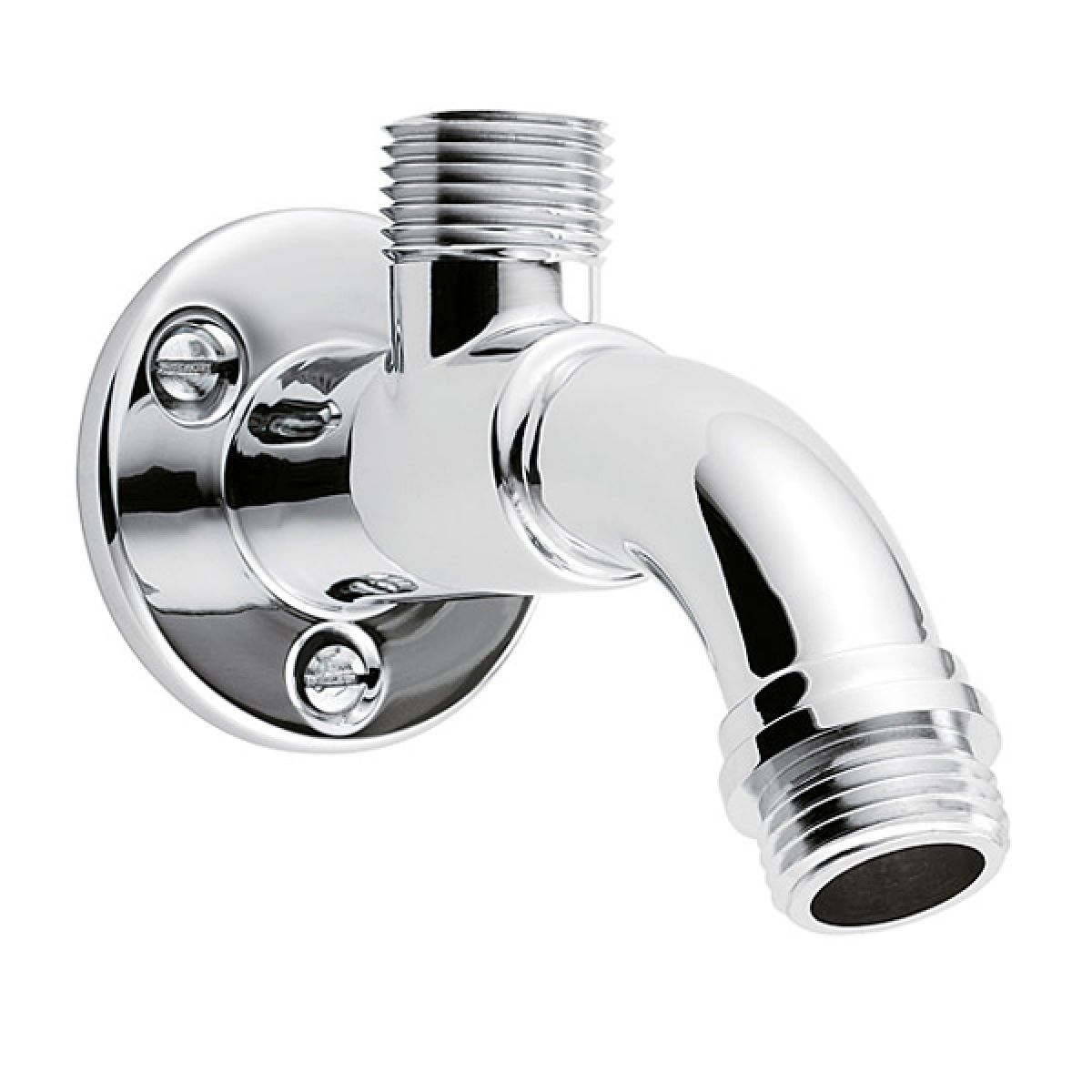 Triton Chrome Top Entry Shower Arm 90mm