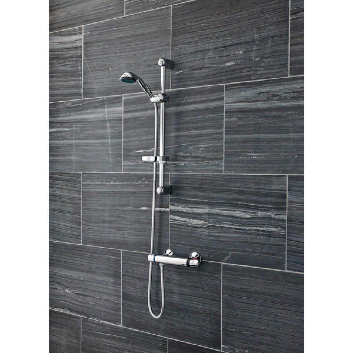 Ultra Dune Thermostatic Mixer Shower Low Pressure Lifestyle