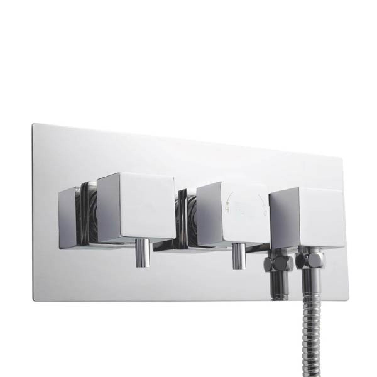 Ultra Triple Thermostatic Shower Valve With Diverter