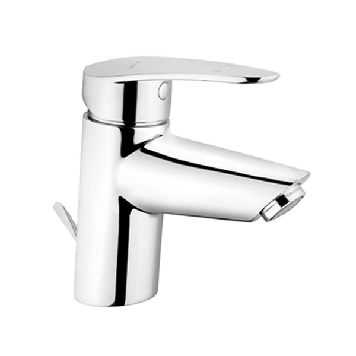 Vitra Dynamic S Basin Mixer Tap with Pop-Up Waste