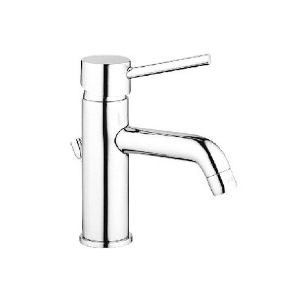 Vitra Minimax S Basin Mixer Tap with Pop-Up Waste