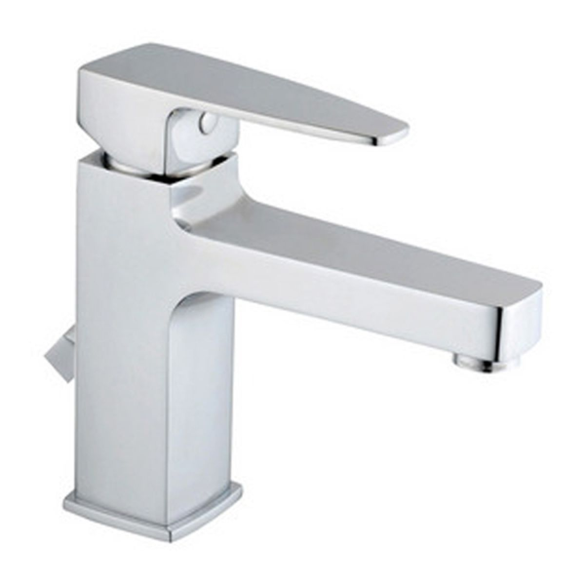Vitra Q-Line Basin Mixer Tap with Pop-Up Waste