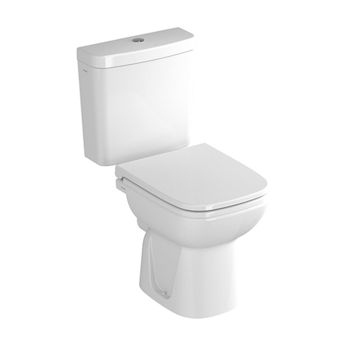 Vitra S20 Close Coupled Open Back Toilet with Cutout
