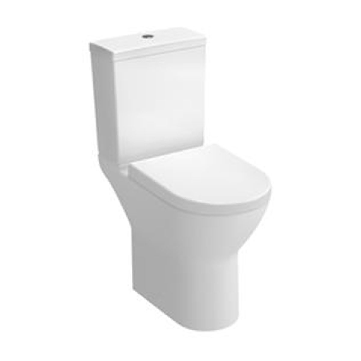 Vitra S50 Comfort Height Open Back Close Coupled Toilet