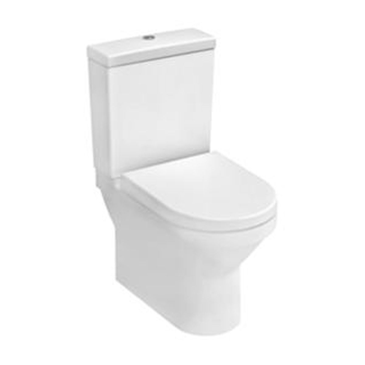 Vitra S50 Compact Back To Wall Close Coupled Toilet