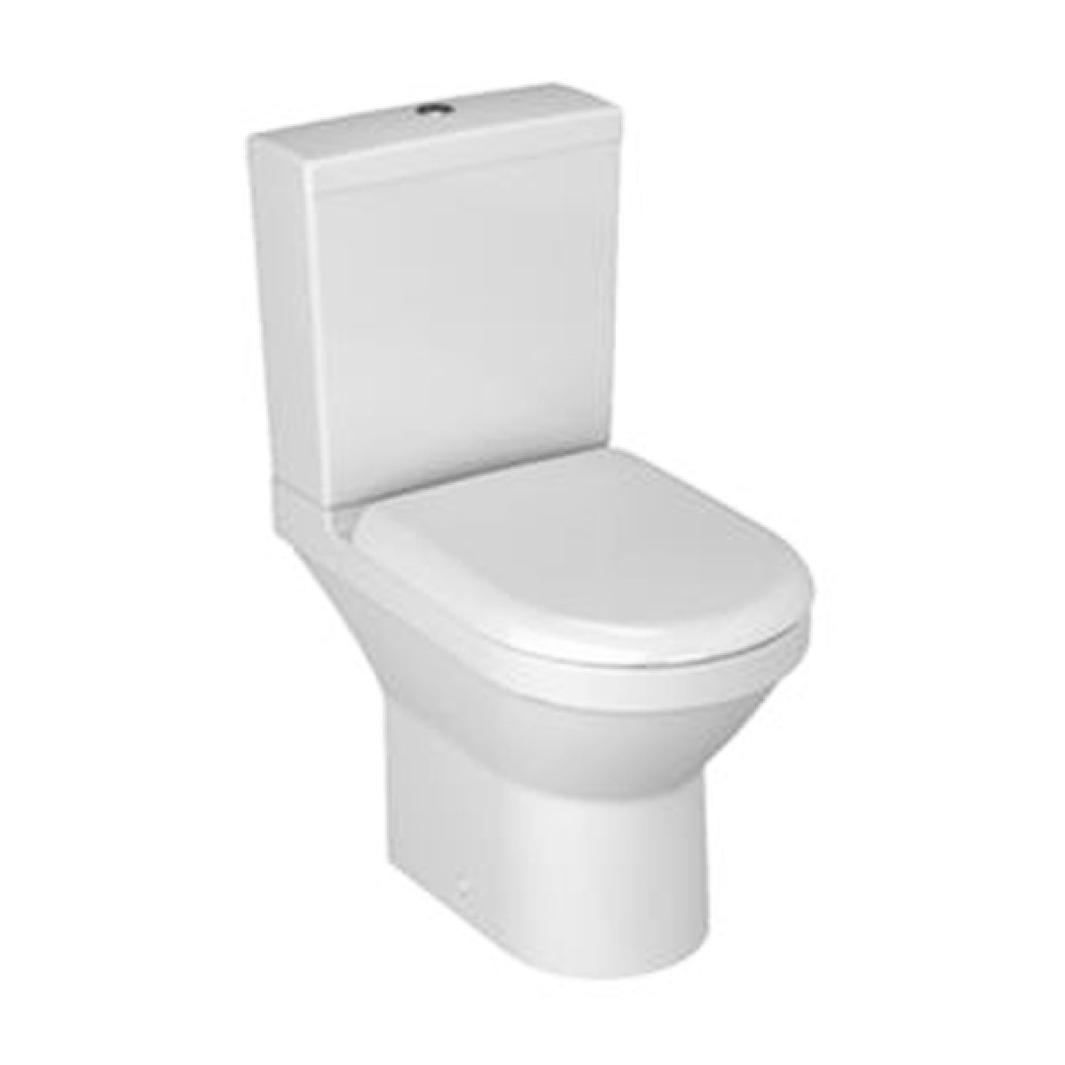 Vitra S50 Compact Open Back Close Coupled Toilet