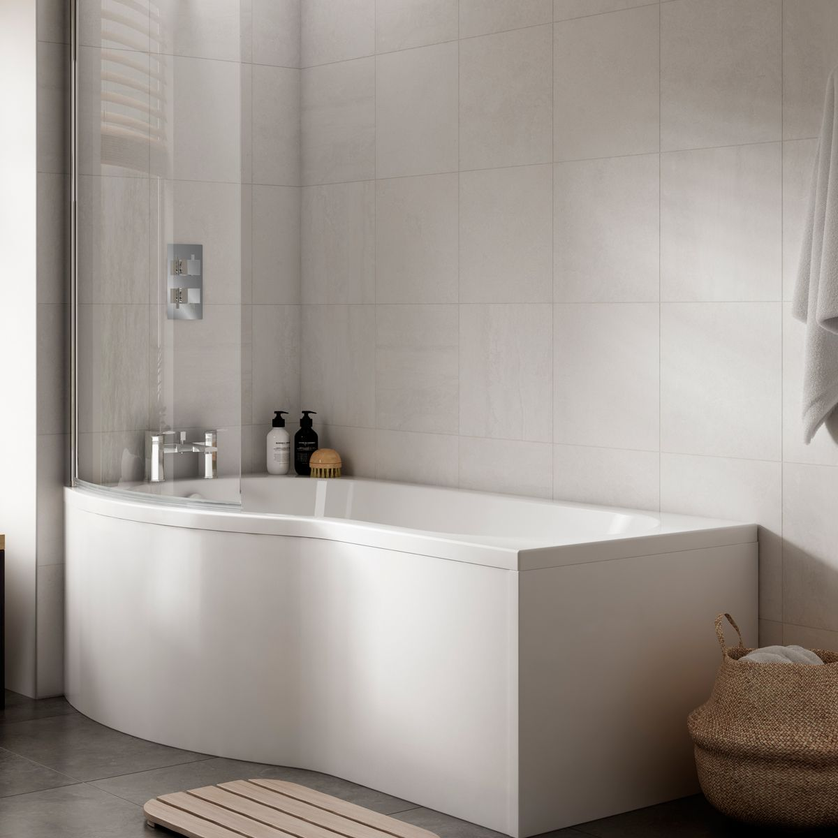 Premier Acrylic Curved Bath Front Panel