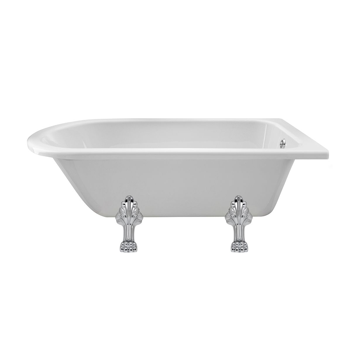 Winterburn Roll Top Bath with Pride Feet
