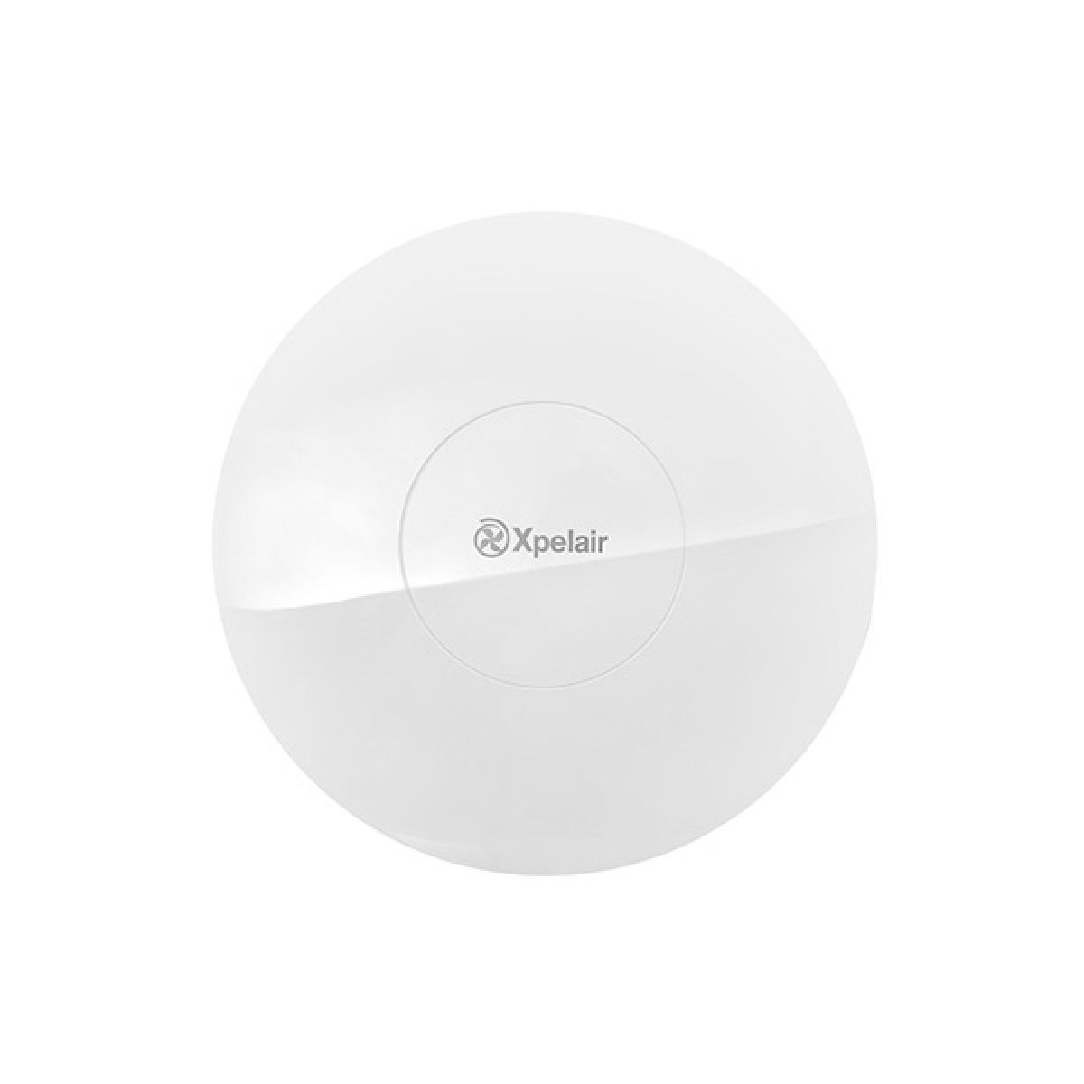 Xpelair Simply Silent Contour Round Bathroom Fan with Humidistat 100mm - Front