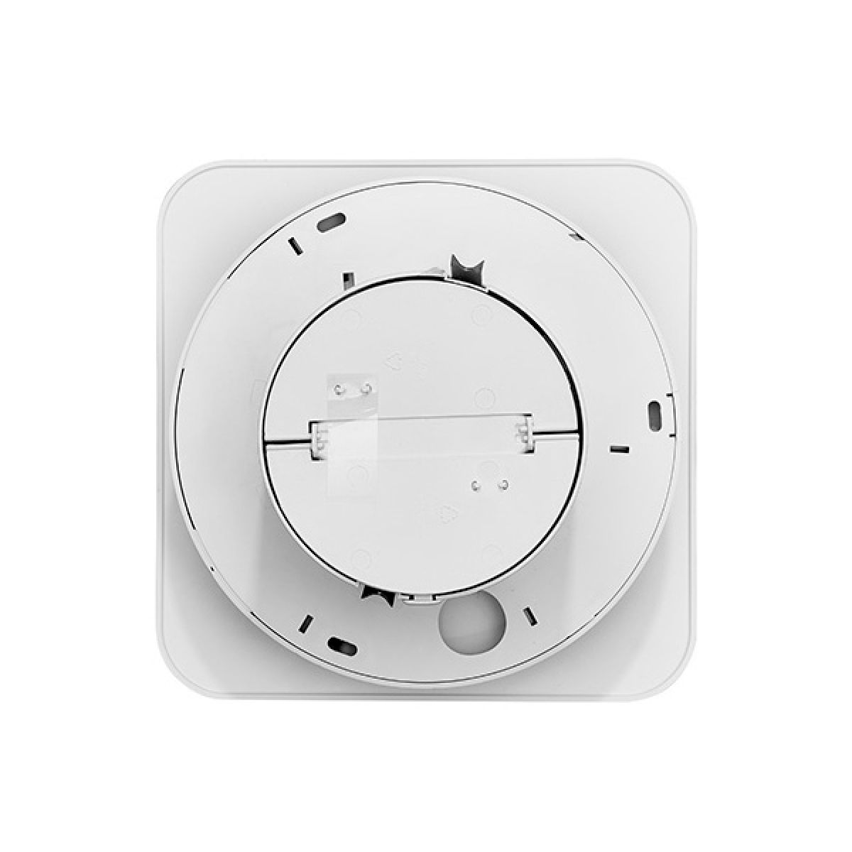 Xpelair Simply Silent Contour Square Bathroom Fan with Timer 100mm - Back