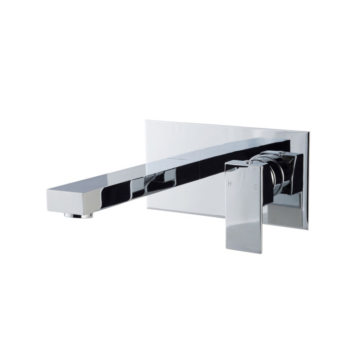 Zenith Form Wall Mounted Basin Mixer Tap