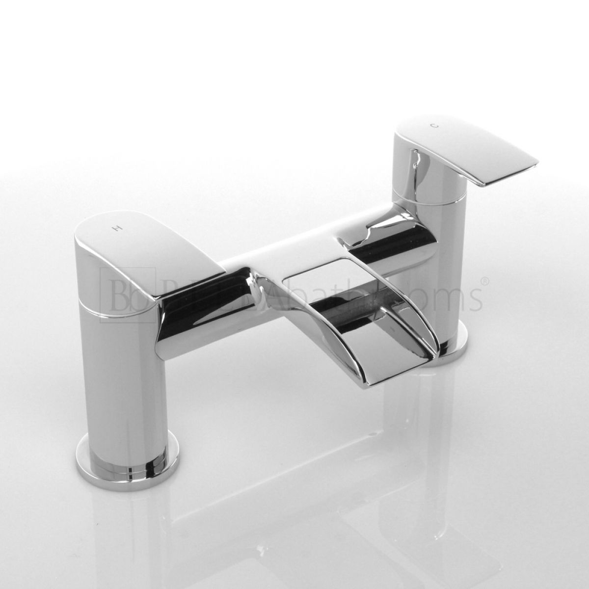 Zenith Halton Waterfall Bath Filler Tap
