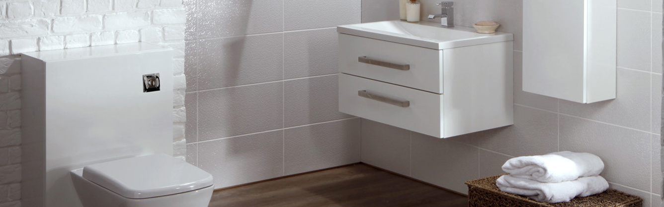 Frontline Aquatrend Avola White Bathroom Furniture