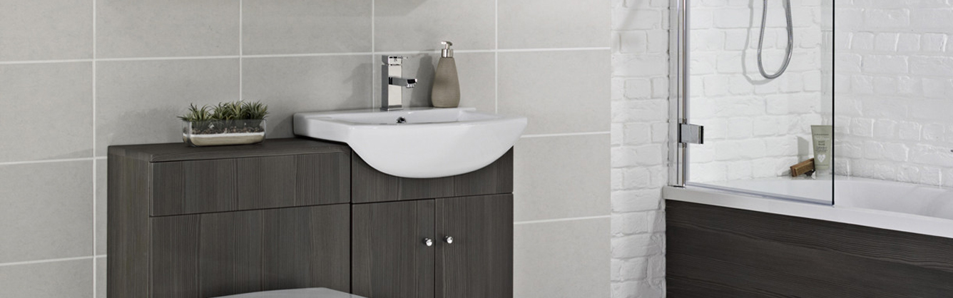 Frontline Avola Grey Bathroom Furniture
