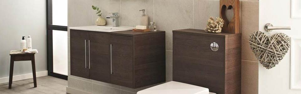 Hudson Reed Horizon Mid Sawn Oak Bathroom Furniture
