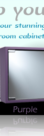 Croydex Purple Cabinet
