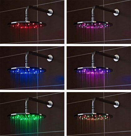 Nuie LED Shower Heads