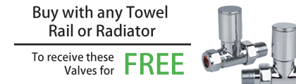 Free Straight Radiator Valves