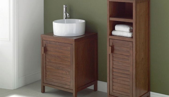 Mito Walnut Bathroom Furniture