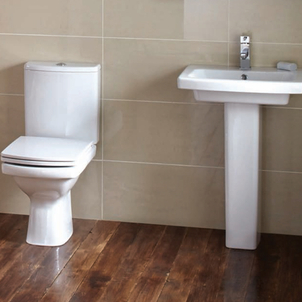 Frontline Razor Close Coupled Toilet With Soft Close Seat