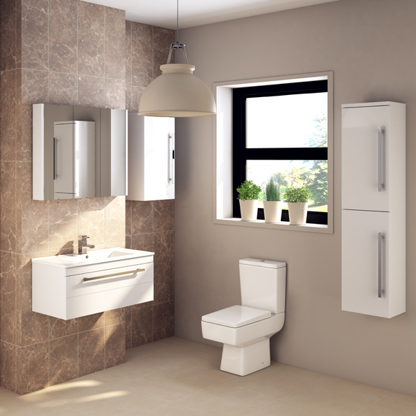 Part of the Premier Cardinal bathroom furniture collection