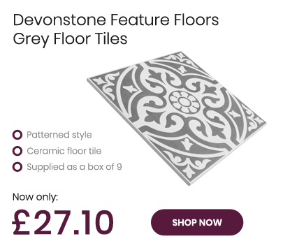 Devonstone Feature Floors Grey Ceramic Floor Tile